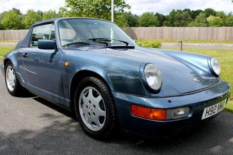 Porsche 911 (964) Carrera 2 Cabriolet Manual
