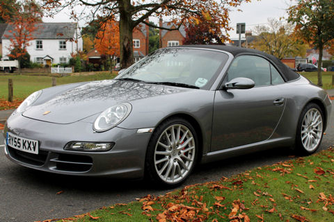 Porsche 911 (997) Carrera S 3.8S Cabriolet Convertible Manual